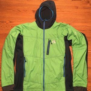 First Ascent- Polartech lightweight hooded jacket